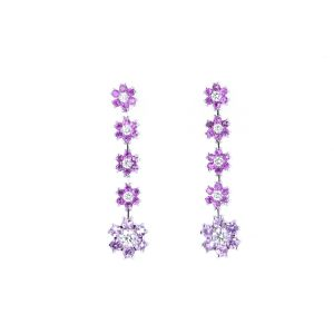 Miro Sapphire and Diamond Earrings  192-R2011194