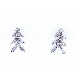 Modern Diamond Earrings ER1476