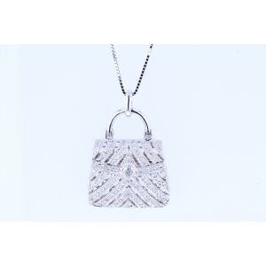 Miro Diamond Pendant  P7044GB8554