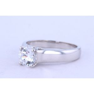 Jeff Cooper Solitaire Engagement Ring  18-R3153