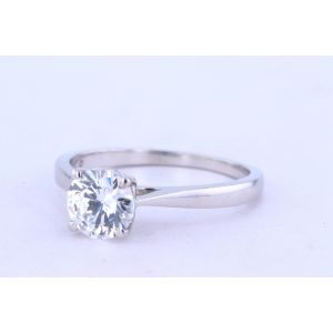 Jeff Cooper Solitaire Diamond Engagement Ring  R-3263