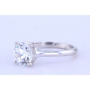 Jeff Cooper Solitaire Diamond Engagement Ring  R-3320RD8