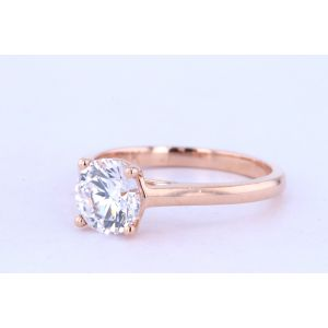 Jeff Cooper Prong Engagement Ring  18-R3320