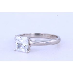 Jeff Cooper Solitaire Diamond Engagement Ring  R-3320PR