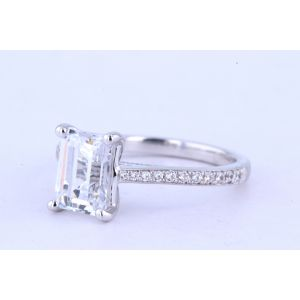 Jeff Cooper Pave Diamond Engagement Ring  RP-1504EM