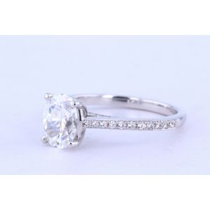 Jeff Cooper Pave Diamond Engagement Ring  RP-1504OV