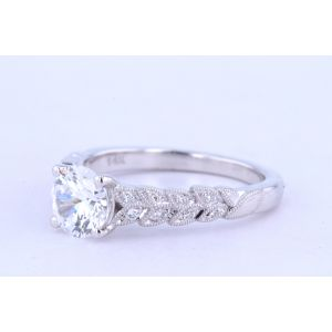 Jeff Cooper Pave Engagement Ring  18-RP1620