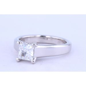 Jeff Cooper Solitaire Engagement Ring  18-RP1700