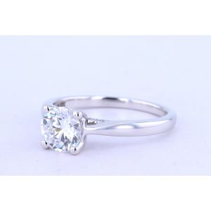 Jeff Cooper Pave Diamond Engagement Ring  RP-1702