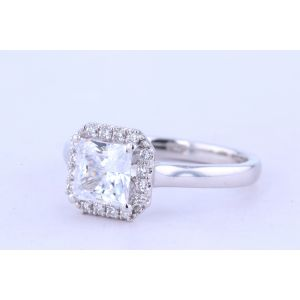 Jeff Cooper Halo Engagement Ring  18-RP1607/OCT