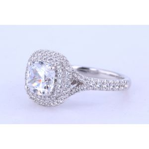 Jeff Cooper Halo Engagement Ring  18-RP1610/CU
