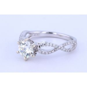 Miro Pave Engagement Ring  233-R182010