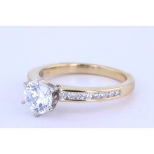 Miro Channel-Set Engagement Ring  250-R1068