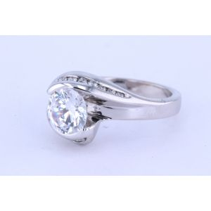Miro Channel-Set Engagement Ring  250-R1087