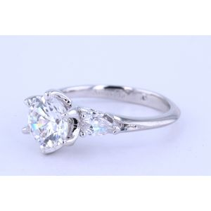 Gabriel New York Three-Stone Diamond Engagement Ring  ER11692R6