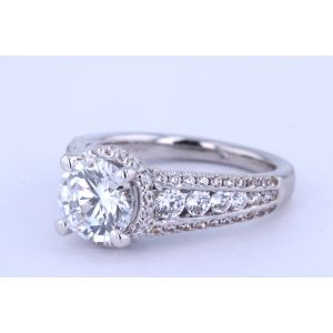 Gabriel New York Channel-Set Diamond Engagement Ring ER12340R6