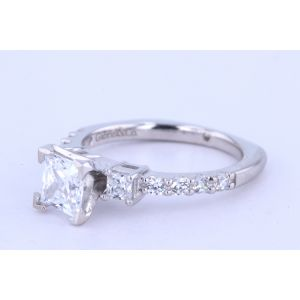 Gabriel New York Pave Diamond Engagement Ring  ER4020