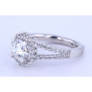 Gabriel New York Halo Diamond Engagement Ring  ER4112