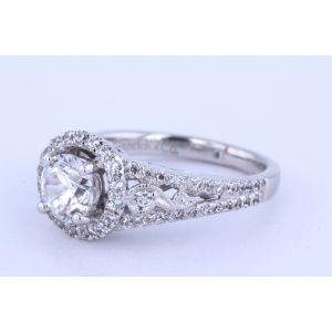 Gabriel New York Vintage Diamond Engagement Ring  ER5375