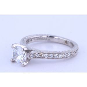 Gabriel New York Vintage Diamond Engagement Ring  ER6633