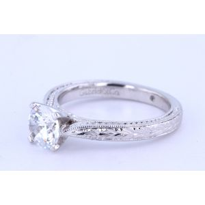 Gabriel New York Vintage  Engagement Ring ER6636