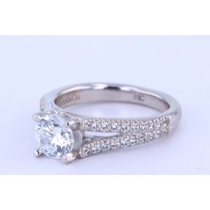 Gabriel New York Pave Diamond Engagement Ring  ER6666