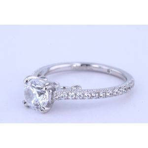 Gabriel New York Pave Diamond Engagement Ring  ER7209