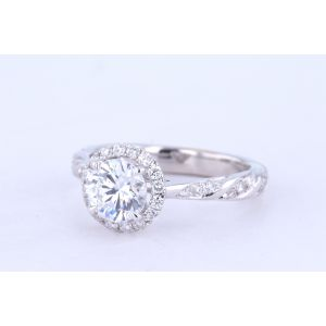 Supreme Halo Engagement Ring  329-1084