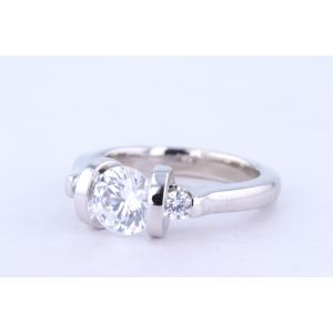 Danhov Tension Engagement Ring  331-V124