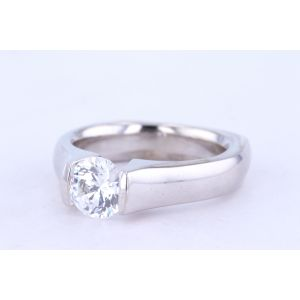 Danhov Tension Engagement Ring  331-V135