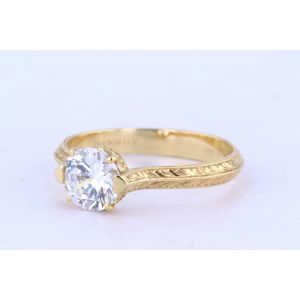 Danhov Vintage Engagement Ring  331-CL164
