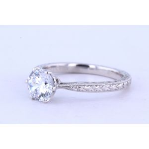 Danhov Vintage Engagement Ring  331-CL166