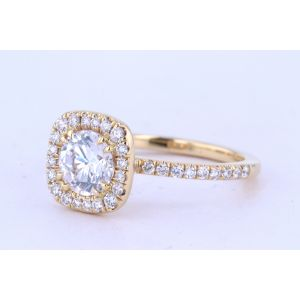 Danhov Halo Diamond Engagement Ring  LE125