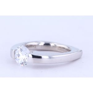 Danhov Tension Engagement Ring  331-V127