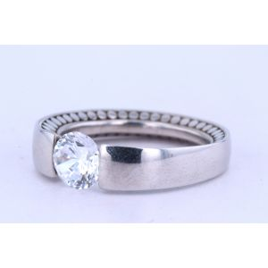 Danhov Tension Engagement Ring  331-V136