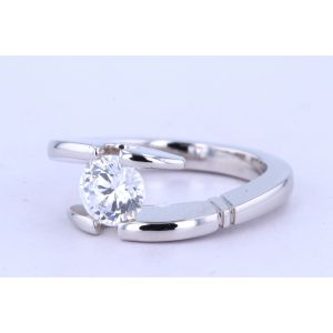 Danhov Tension  Engagement Ring V146