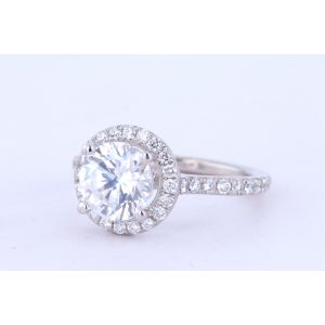 Siera Vintage Diamond Engagement Ring  R32520