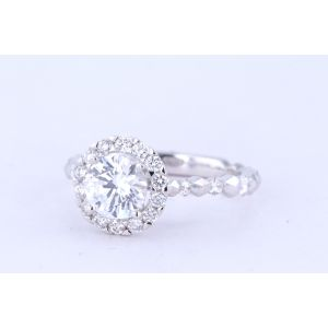 Siera Halo Diamond Engagement Ring  R35908