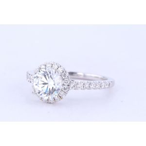 Siera Halo Diamond Engagement Ring  R36467