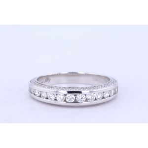 Michael M Channel-Set Engagement Ring  40-R399-B