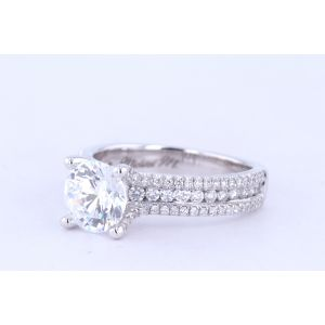 Michael M Channel-Set Engagement Ring  40-R671-1.5
