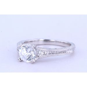 Kirk Kara Channel-Set Engagement Ring  63-K1140DC-R