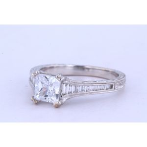 Kirk Kara Channel-Set Engagement Ring  63-K1151DC-R