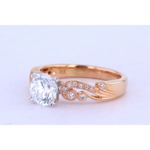 Kirk Kara Pave Engagement Ring  63-K1250DCP-R