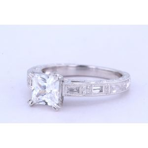 Kirk Kara Vintage Engagement Ring  63-K138S