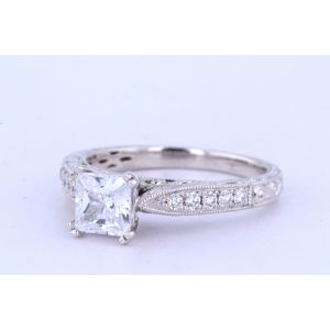 Kirk Kara Vintage Engagement Ring  63-K161ES