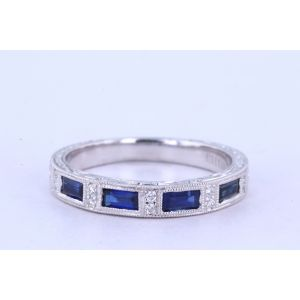 Kirk Kara Gemstone and Diamond Wedding Ring  63-SS6685-B1