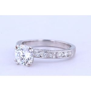 Kirk Kara Channel-Set Engagement Ring  63-SS6852-R
