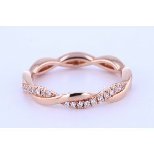 Stackable Diamond Wedding Ring  KR5927-3