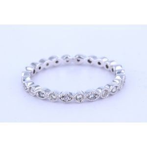 Stackable Diamond Wedding Ring  MR661-4